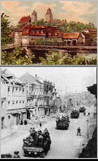Eilenburg Pre & Post War - Photo Courtesty of http://www.exulanten.com/bombc2.html