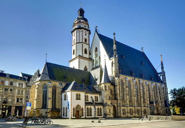 St. Thomas Church - Leipzig - Photo Courtesy of https://www.viator.com/Leipzig-attractions/St-Thomas-Church-Thomaskirche/d29263-a25693