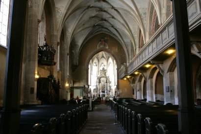 Cathedral of St. Peter - Bautzen - Photo Courtesy of https://commons.wikimedia.org/wiki/File:G%C3%B6rlitz_-_Obermarkt_-_Dreifaltigkeitskirche_in_14_ies.jpg
