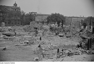 Leipzig During WWII - Photo Courtesy of By Deutsche Fotothek‎, CC BY-SA 3.0 de, https://commons.wikimedia.org/w/index.php?curid=6535667