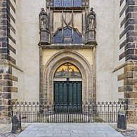 All Saints' Church - Thesis Doors - Photo Courtesy of Wikipedia